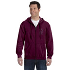 Hooded Heavy Full Zipper Sweatshirt Shirt
