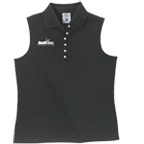Ladies sleeveless Polo