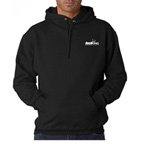 Jerzees Adult Hooded Pullover Sweatshirt - Embroidered