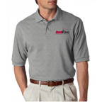 Jerzees Adult Ring-Spun Cotton Pique Polo - Embroidered