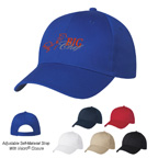 Emboidered 6 Panel Polyester Cap