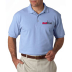 Hanes Adult ComfortSoft Pique Polo Shirt-Embroidered