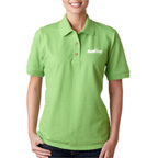 Gildan Ladies Ultra Cotton Pique Polo- Embroidered