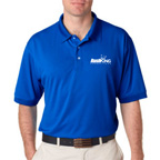 UltraClub Mens Platinum Performance Pique Polo Shirt