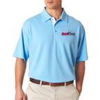 UltraClub Mens Platinum Performance Birdseye Polo Shirt