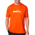 UltraClub Mens Cool and Dry Sport Performance Interlock T-Shirt