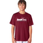 UltraClub Youth Cool and Dry Sport Performance Interlock T-Shirt