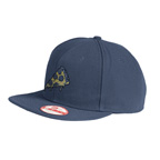 Emboidered New Era Original Fit Flat Bill Snapback Cap