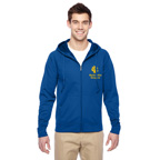 Jerzees Adult 6 oz. DRI-POWER SPORT Full-Zip Hooded Sweatshirt