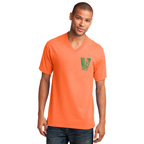 Port and Company Core Cotton V-Neck Tee Shirt