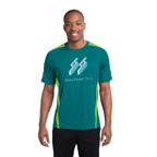 Sport-Tek Colorblock PosiCharge Competitor Tee Tennis Shirt