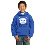 Port and Company - Youth Core Fleece Pullover Hooded Sweatshirt