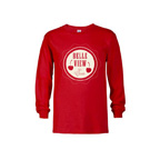 Youth 5.2 oz Regular Fit Long Sleeve Tee Shirt