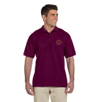 Gildan Adult Ultra Cotton Adult 6 oz. Jersey Polo - Embroidered