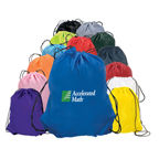Nylon Drawstring Backpack Custom Promotional