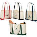 Eco Friendly Shoreline Cotton Tote
