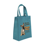Full Color Ike Celebration BRITE Grocery Tote Bag 8W x 4 x 10H