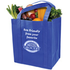 Grocery Tote Bag W/ Reinforced Bottom