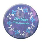 4 Inch Round Full Color Button