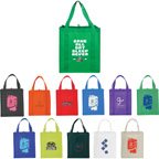 Full color Big Grocery Non-Woven Tote