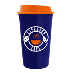 The Traveler- 15 Ounce Insulated Travel Cup Mug Tumbler