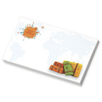 5x3 Adhesive Sticky Notepad - 25 Sheet