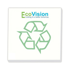 3x3 Adhesive Sticky Notepad - BiC Ecolutions Recycled - 50 Sheet