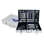 24 pcs Stainless BBQ Tool Set in a Case