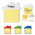 House Clip With Sticky Notes