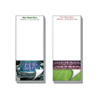 3 1/2 x 8 Full Color Magnetic Notepads-25 Sheet
