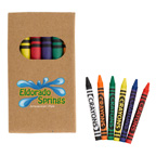 6 Piece Crayon Set