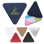 Triangle Shape Sticky Note Pad