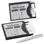 Calculator/Business Card Holder