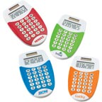 Eco Friendly Colorful Pocket Calculator