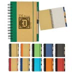 Eco-friendly Spiral Notebook & Pen