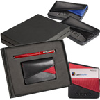 Fairview Card Case and Stylus Pen Gift Set.