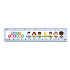 Full Color Standard 6 Inch Acrylic Ruler