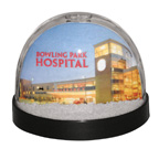 FUll Color Inserted Snow Globe