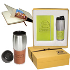 Leeman Tuscany Journal and Tumbler Gift Set