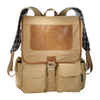 Field and Co. Cambridge Collection Compu-Backpack