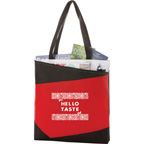Color Angle Non Woven Convention Tote Bag