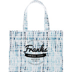 Cross Hatch Laminated Shopper Tote Bag