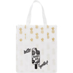 Pineapple Laminated Shopper Tote Bag