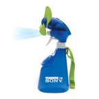 Squeeze Breeze Spray Mist Fan