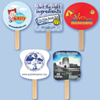 Single Sheet Mini Hand Fan