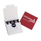 Pebble Golf Match Book
