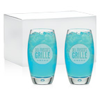 16 OUnce Set of 2 Cooler Glass Gift Set