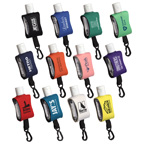 15ml Hand Sanitizer In EVA Case With Clip