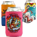 Full Color Neoprene Cool-Apsible Can Cooler