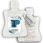 Hand Sanitizer Pouch with Carabiner